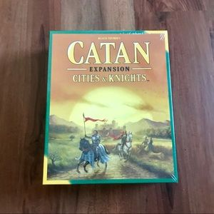 🆕 Catan Expansion: Cities & Knights Board Game